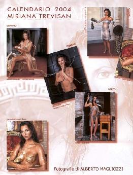 Miriana Trevisan Calendario.Miriana Trevisan Anno 2004